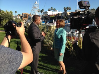 Gerri-Lynn Fives and Ty Hines of SD Luxury Listings on ABC